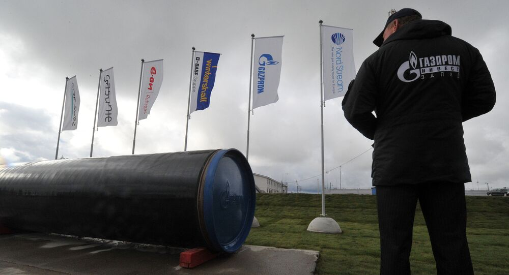 Launch of second section of Nord Stream gas pipeline