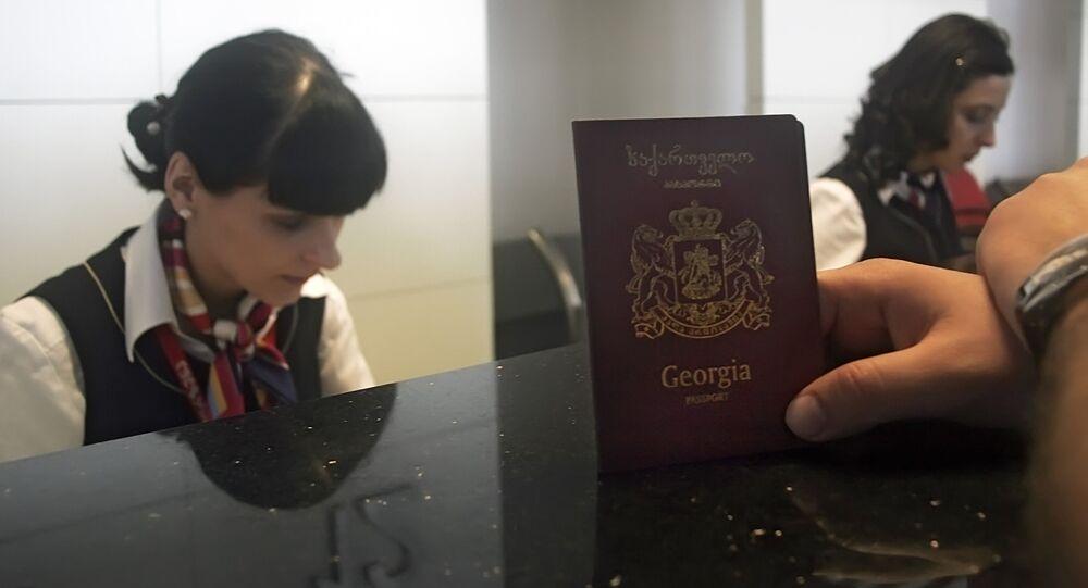 Georgian passport