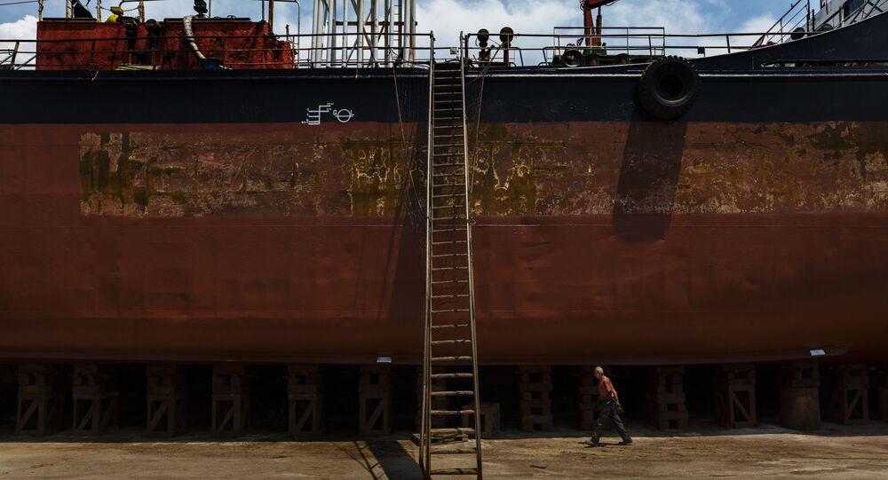 Greek shipping industry