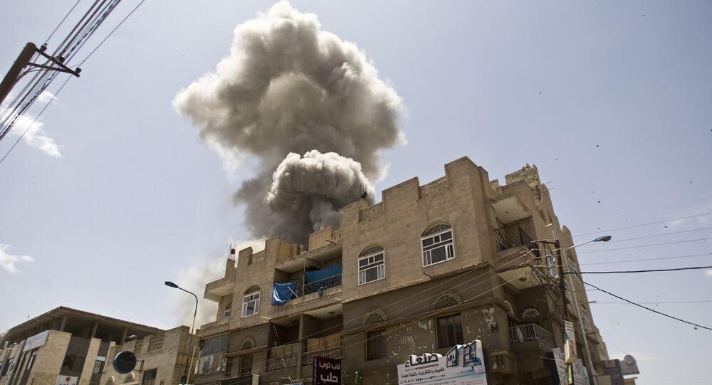 Saudi-led airstrikes on Yemen