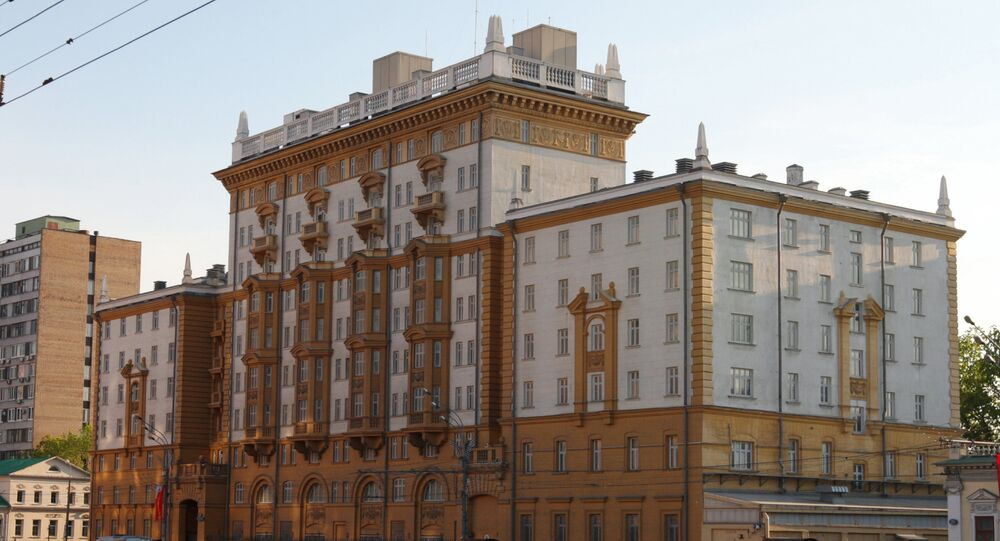 The U.S. Embassy in Moscow