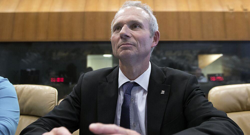 Britain's Minister of State for European Affairs David Roy Lidington.