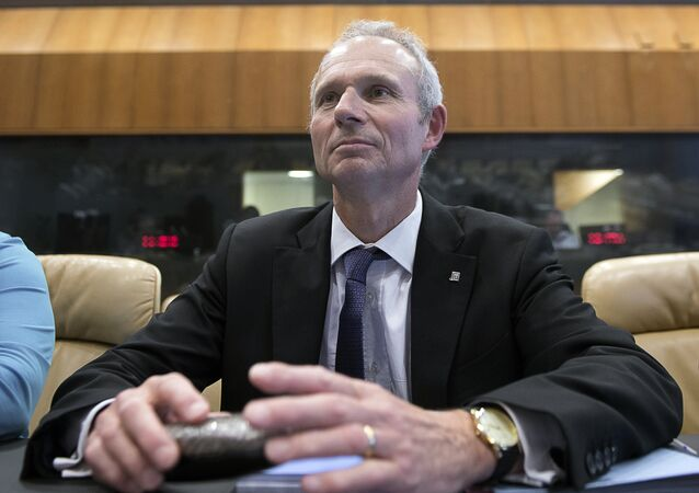 Britain's Minister of State for European Affairs David Roy Lidington.