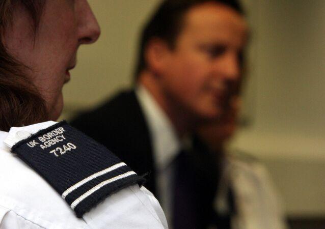 UK border agency stops illegal migrants