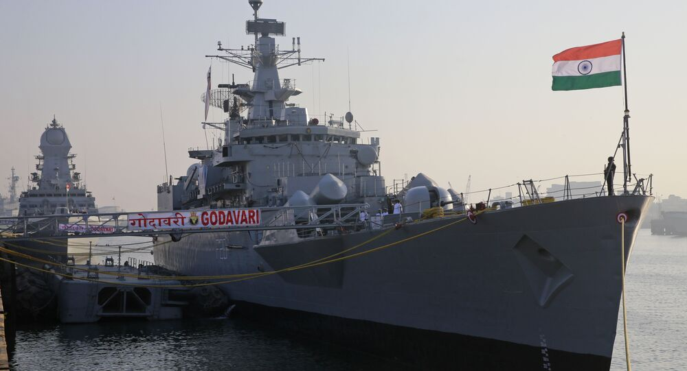 Amid China standoff, Indian, US navies hold military drill