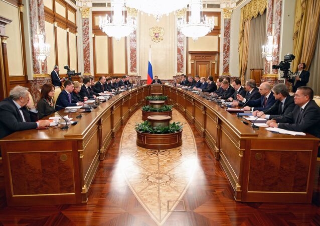 Cabinet meeting at the Government House, December 3, 2015