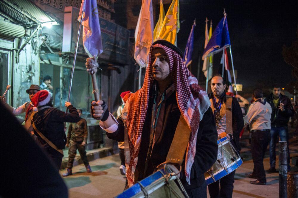 Xmas in Syria: Festive Spirit in Damascus Despite Ongoing War
