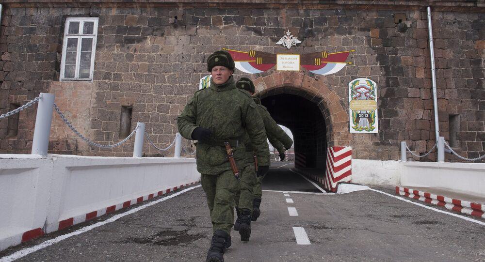 102nd Russian military base in Armenia
