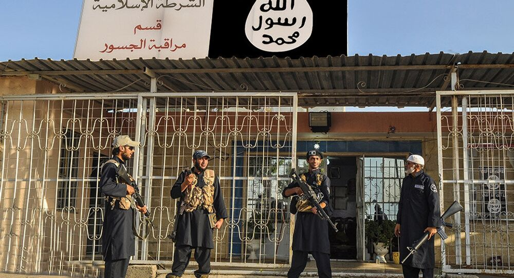 Islamic State militants. File photo