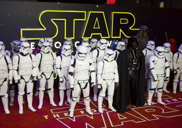 Star Wars: The Force Awakens premiered in London
