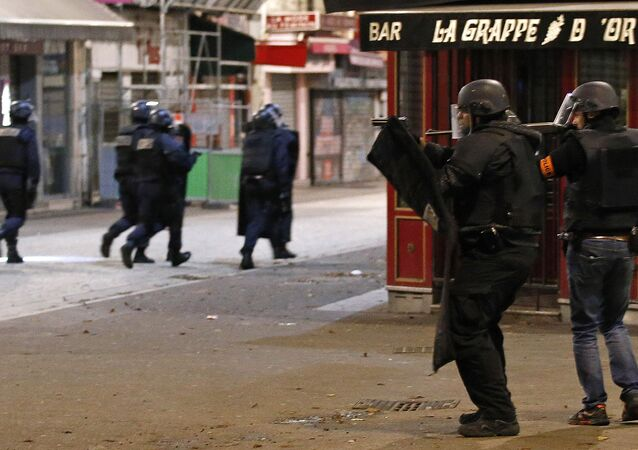 Police forces operate in Saint-Denis, a northern suburb of Paris. (File)