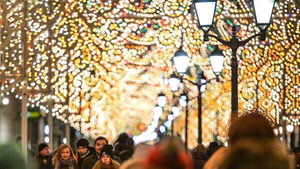 Christmas Light International Festival in Moscow - Sputnik International