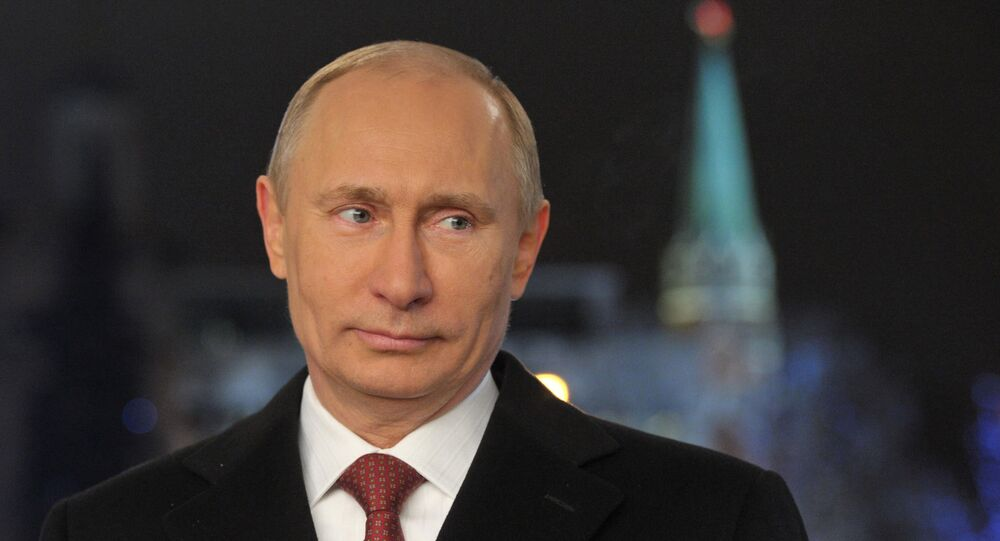 Russian President Putin makes New Year's address