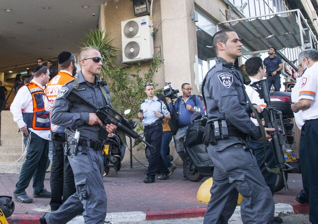 A file photo of Israeli security forces