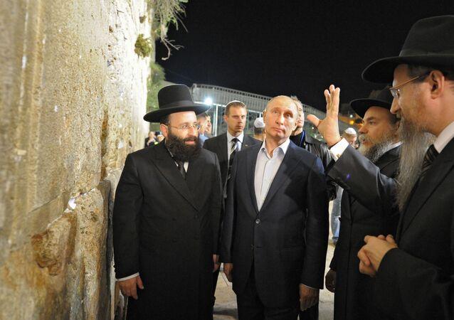 Russian President Putin's visit to Israel. Bethlehem