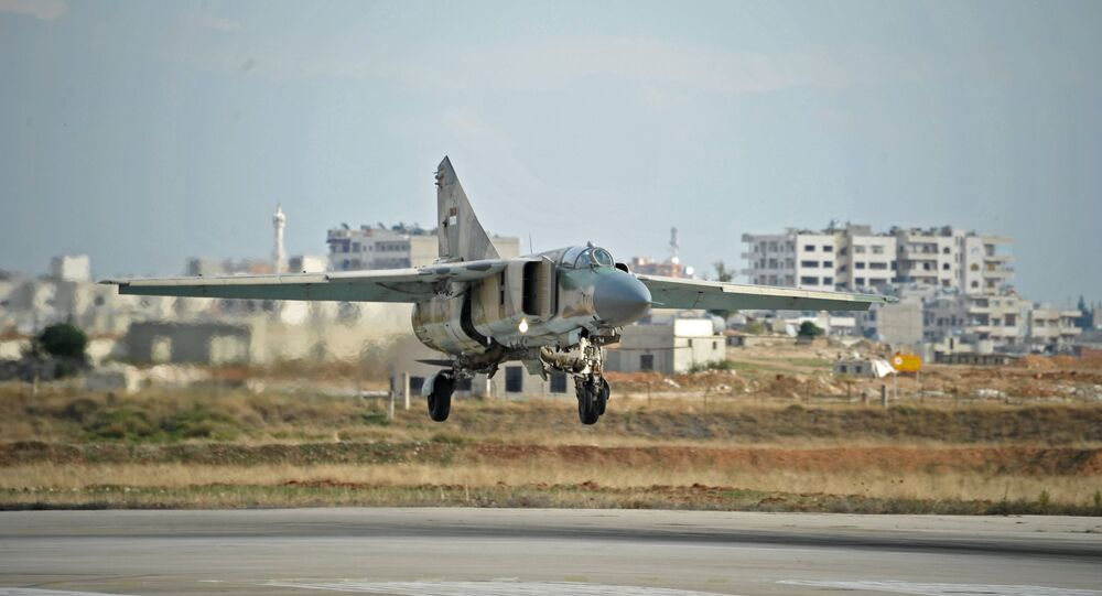 MiG-23 aircraft of the Syrian Air Force