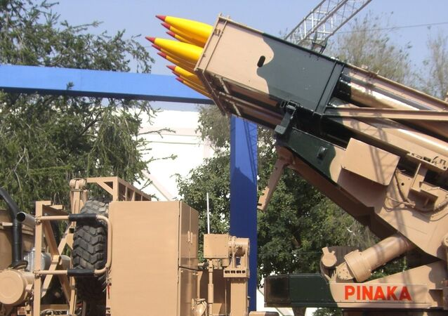 Pinaka is a multiple rocket launcher produced in India and developed by the DRDO for the Indian Army