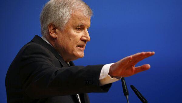 Bavarian Prime Minister and head of the Christian Social Union (CSU) Horst Seehofer - Sputnik International