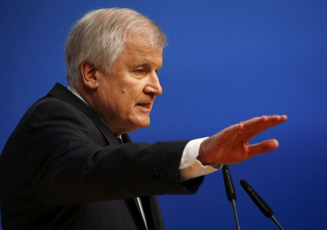 Bavarian Prime Minister and head of the Christian Social Union (CSU) Horst Seehofer