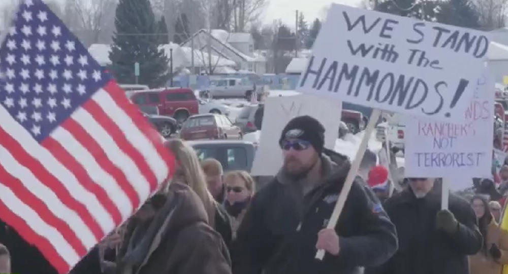 USA: Armed militia occupy federal building in Oregon