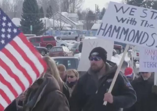 USA: Armed militia occupy federal building in Oregon