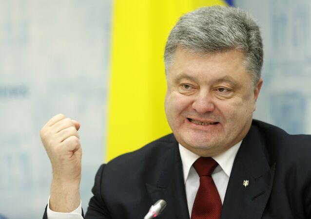 Ukraine's President, Petro Poroshenko