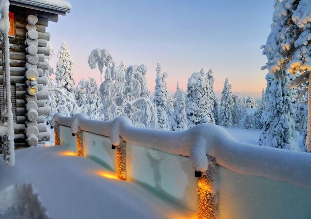 The cottage in Ruka, Northern Finland