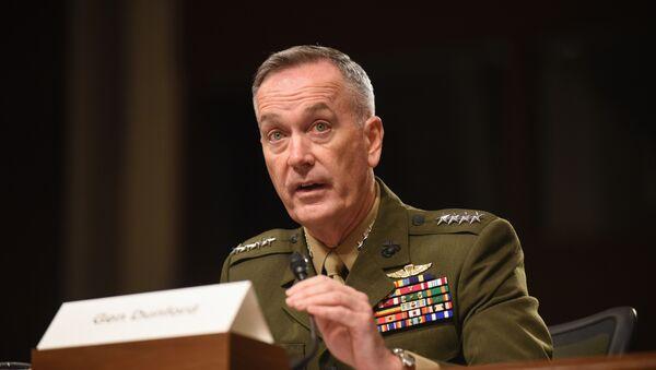 Chairman of the US Joint Chiefs of Staff Gen. Joseph Dunford - Sputnik International
