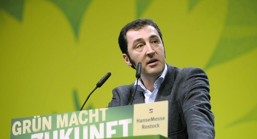 Greens Party chairmen Cem Oezdemir