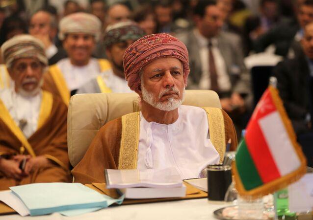Oman's minister responsible for foreign affairs, Yussef bin Alawi bin Abdullah