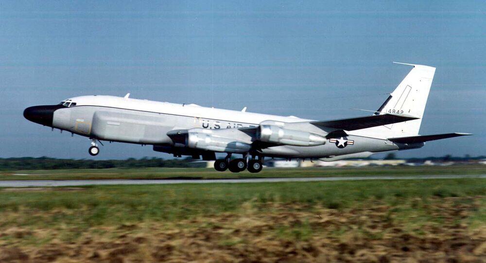 US Air Force RC-135 surveillance plane