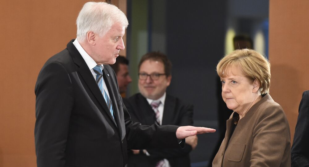 Seehofer and Merkel
