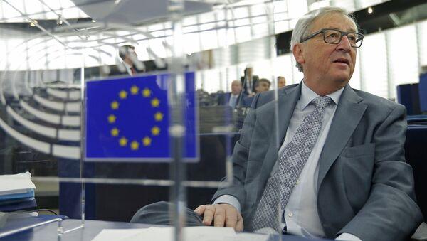 Jean-Claude Juncker visits Amsterdam - Sputnik International