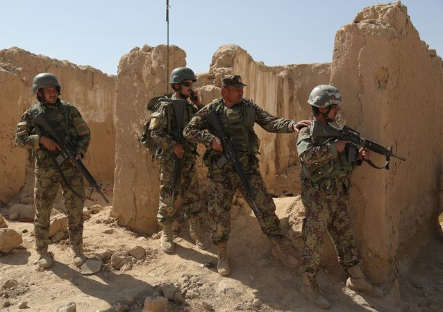 Afghanistan National Army (ANA) soldiers