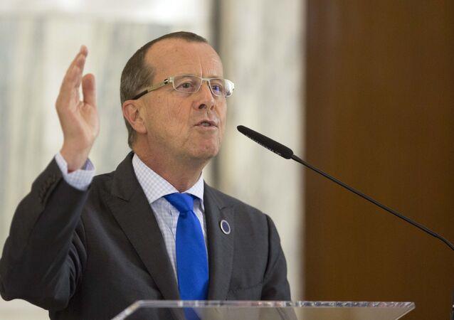 Special Representative of the UN Secretary-General for Libya Martin Kobler.