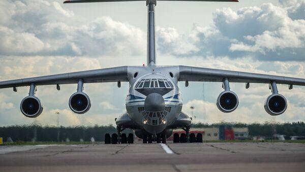 Il-76 military transport plane - Sputnik International