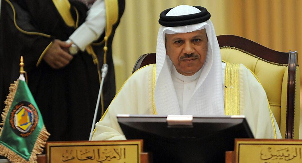 Secretary General of the Gulf Cooperation Council (GCC), Abdullatif al-Zayani
