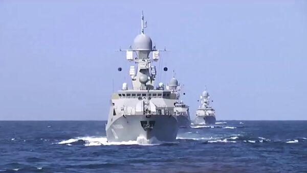 Caspian Flotilla ships - Sputnik International