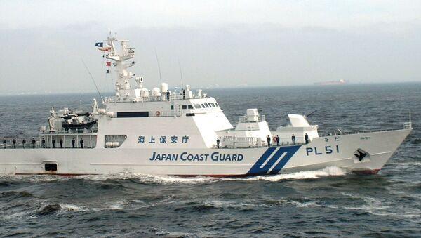 Japan coast guard ship - Sputnik International