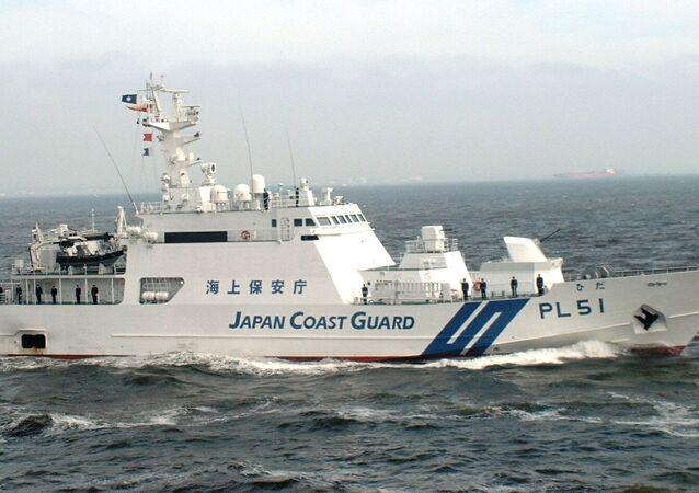Japan coast guard ship