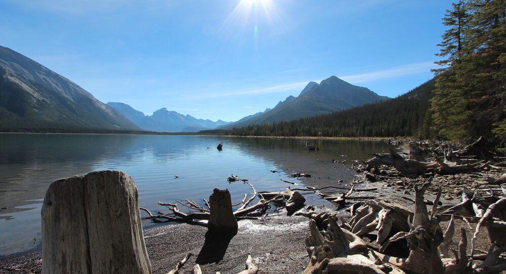 Spray Lakes Alberta Canada Fall 2014