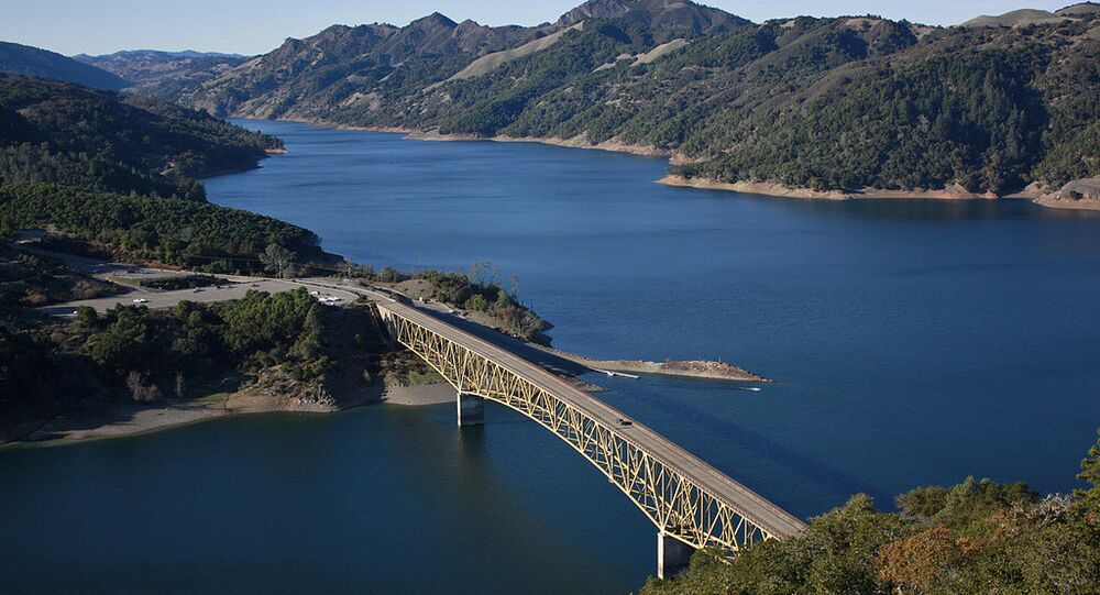 Lake Sonoma, Sonoma County, California