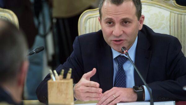 Lebanon's Foreign Minister Gebran Bassil - Sputnik International