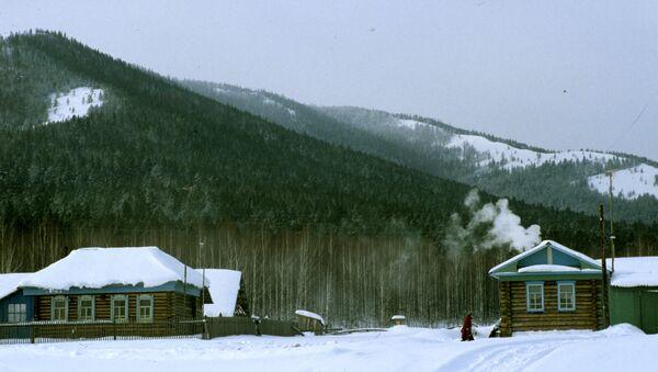 Ogonyok tourist camp near Beloretsk town in the Ural mountain range - Sputnik International