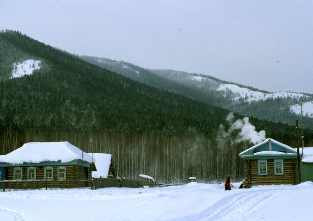 Ogonyok tourist camp near Beloretsk town in the Ural mountain range