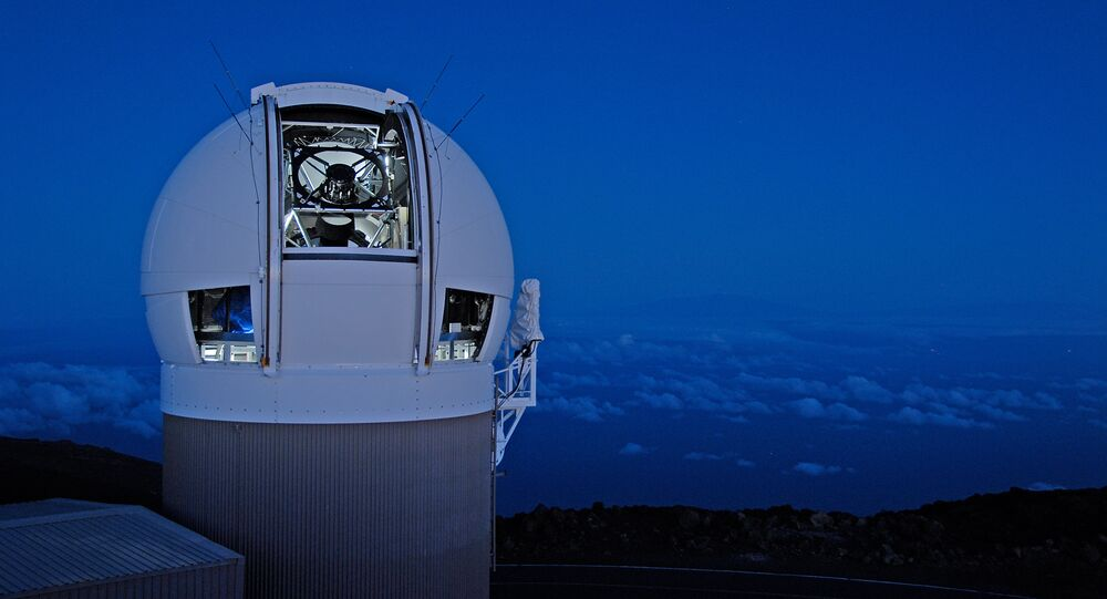 The Panoramic Survey Telescope & Rapid Response System (Pan-STARRS) 1 telescope on Maui's Mount Haleakala, Hawaii has produced the most near-Earth object discoveries of the NASA-funded NEO surveys in 2015.