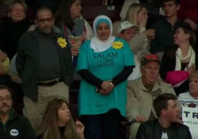 WATCH: Muslim Woman Chased Out of Trump Campaign Event by Angry Crowd