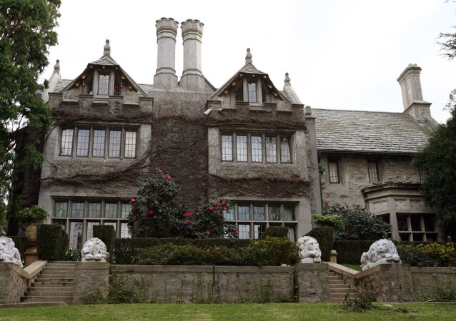 Playboy Magazine publisher Hugh Hefner's property, the Playboy Mansion, is pictured 11 January 2007 in Beverly Hills.