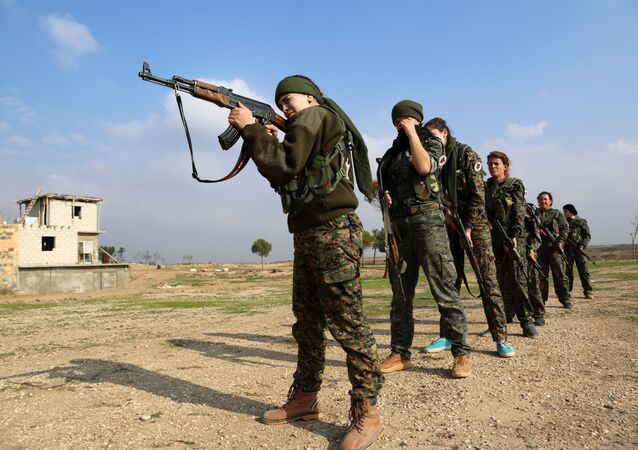 We have proved that women can hold their own in the fight against Daesh, according to Servin Rojava, commander of an all-female branch of the Kurdish People's Protection Units