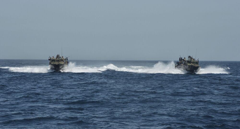 US Riverine Command Boats